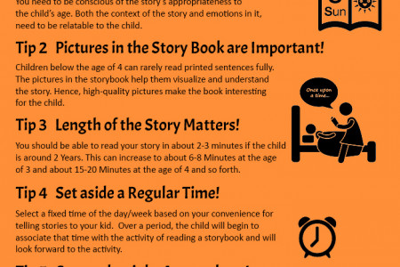 Reading Books for Kids: 6 Practical Tips Infographic
