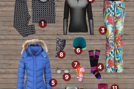 Ready, Set, Ski! Apparel Checklist  Infographic