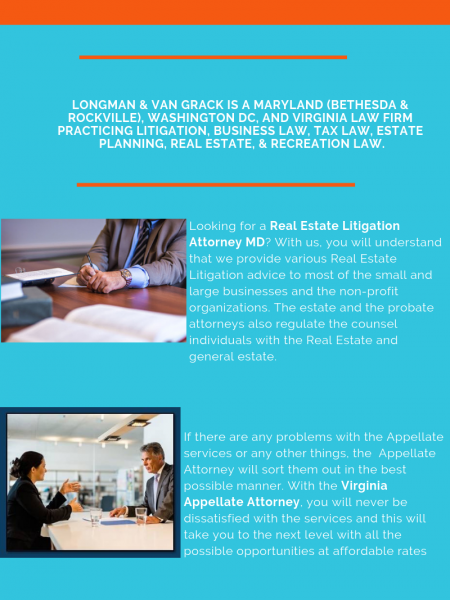 Real Estate Litigation Attorney MD Infographic