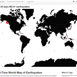 Real time geo map of earthquakes visual gumiabroncs Gallery