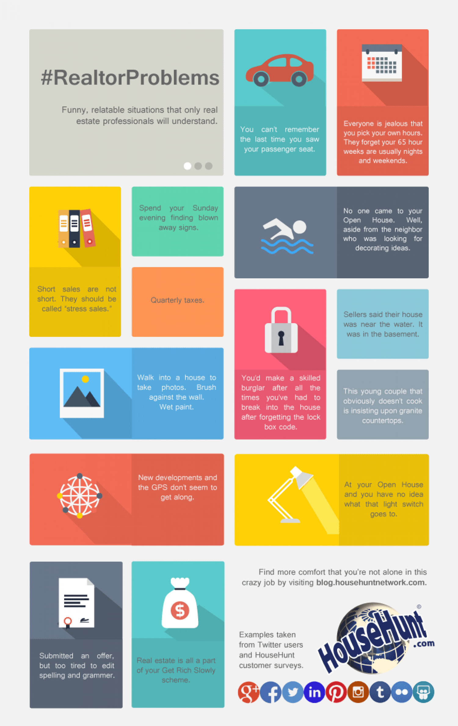 Realtor Problems Infographic