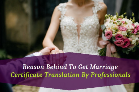 Reason Behind To Get Marriage Certificate Translation By Professionals Infographic