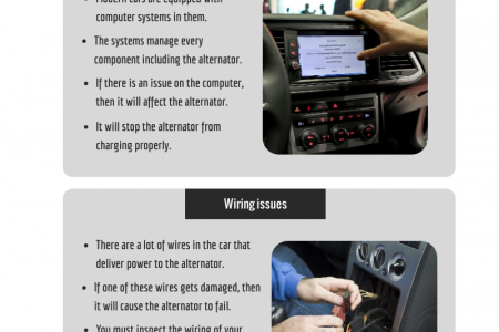 Reasons behind alternator failure in your car Infographic