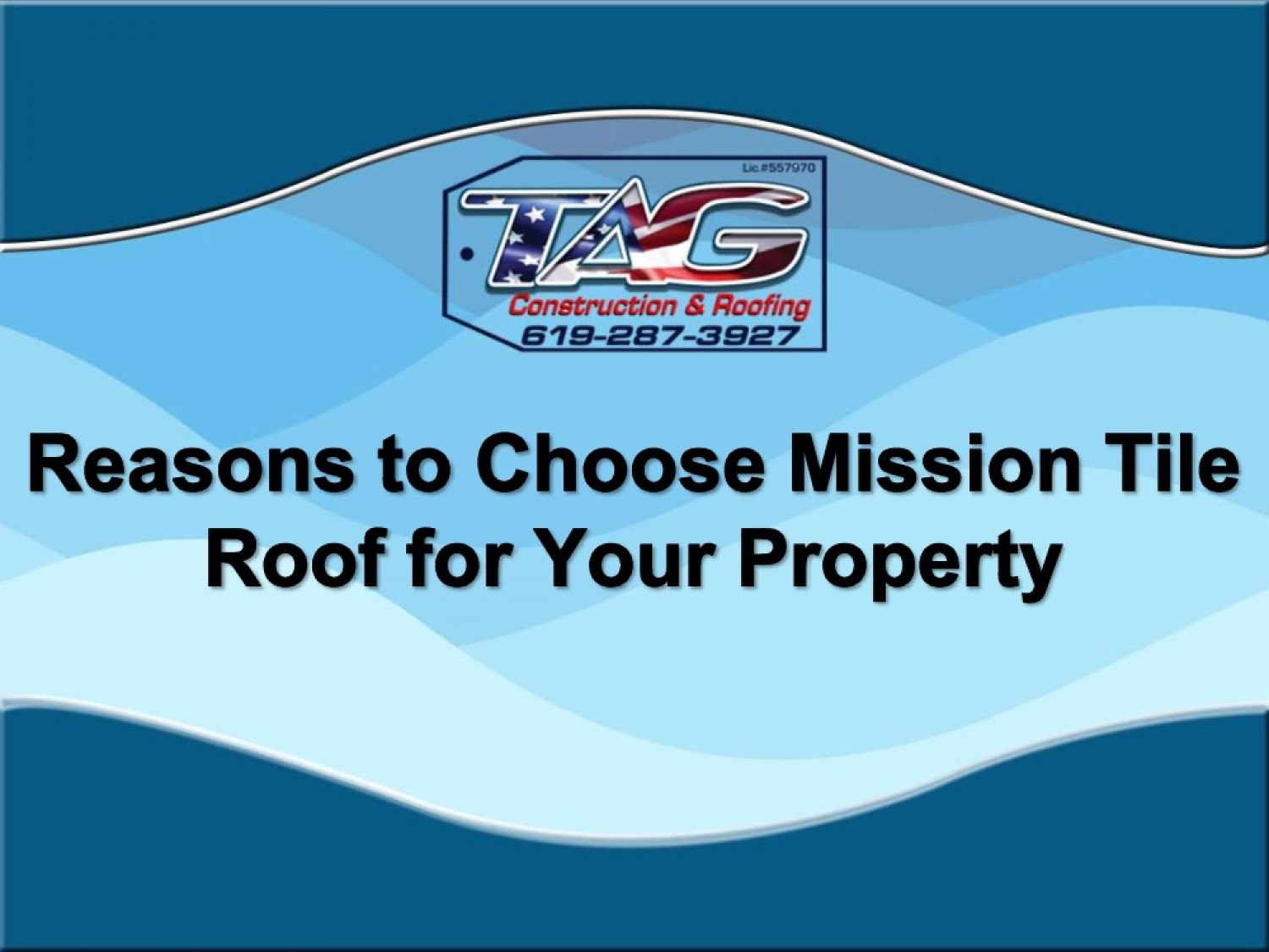 Reasons to Choose Mission Tile Roof for Your Property Infographic