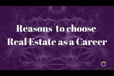 Reasons to choose Real Estate as a Career - Spoter Infographic