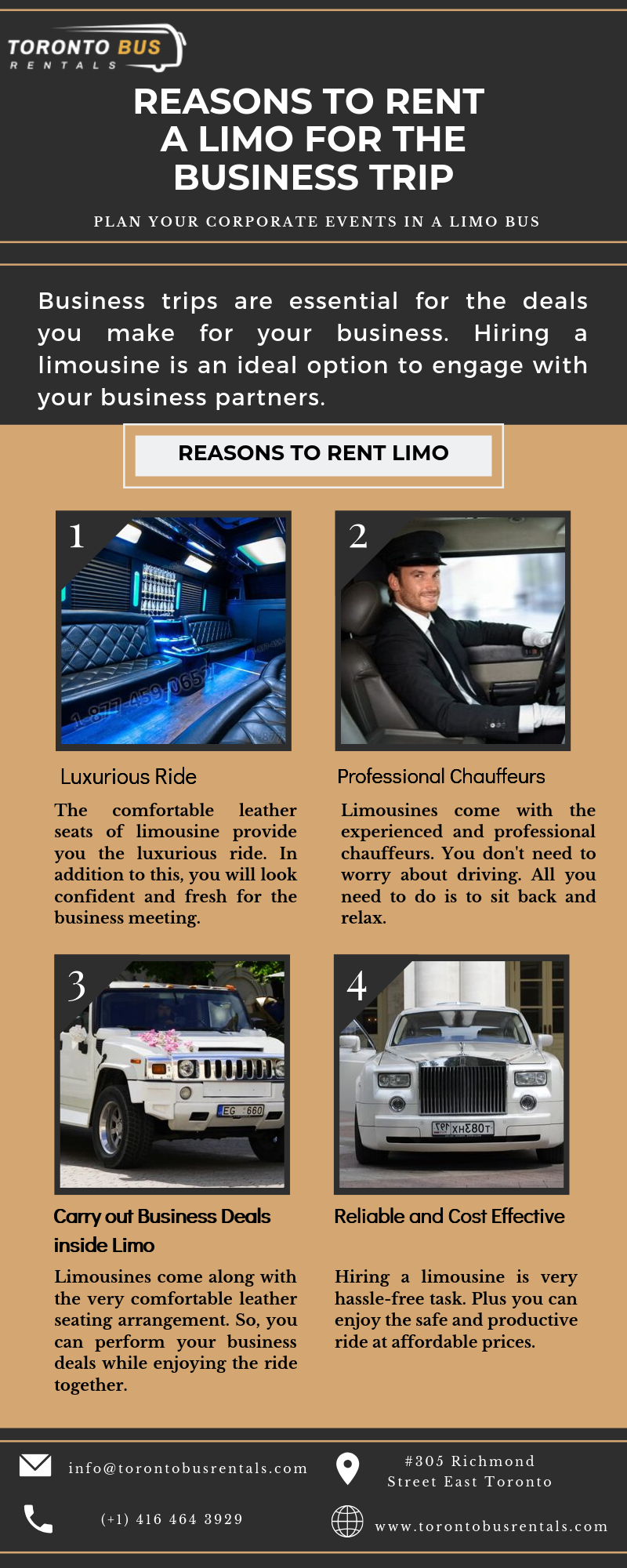 Reasons to rent a limo for the Business Trip