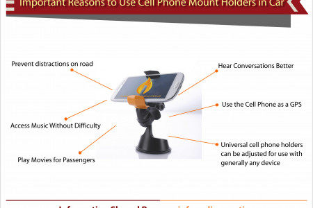 Reasons to use cell phone mount holders in cars Infographic