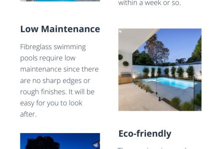 Reasons Why Fibreglass Swimming Pools Are Awesome and Popular Infographic
