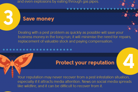 Reasons you need pest control - commercial edition Infographic