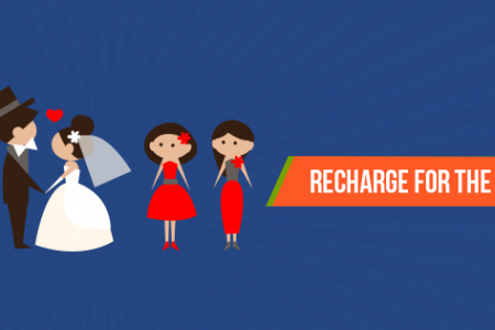 Recharge for the wedding season Infographic