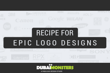 Recipe for Epic Logo Designs Infographic