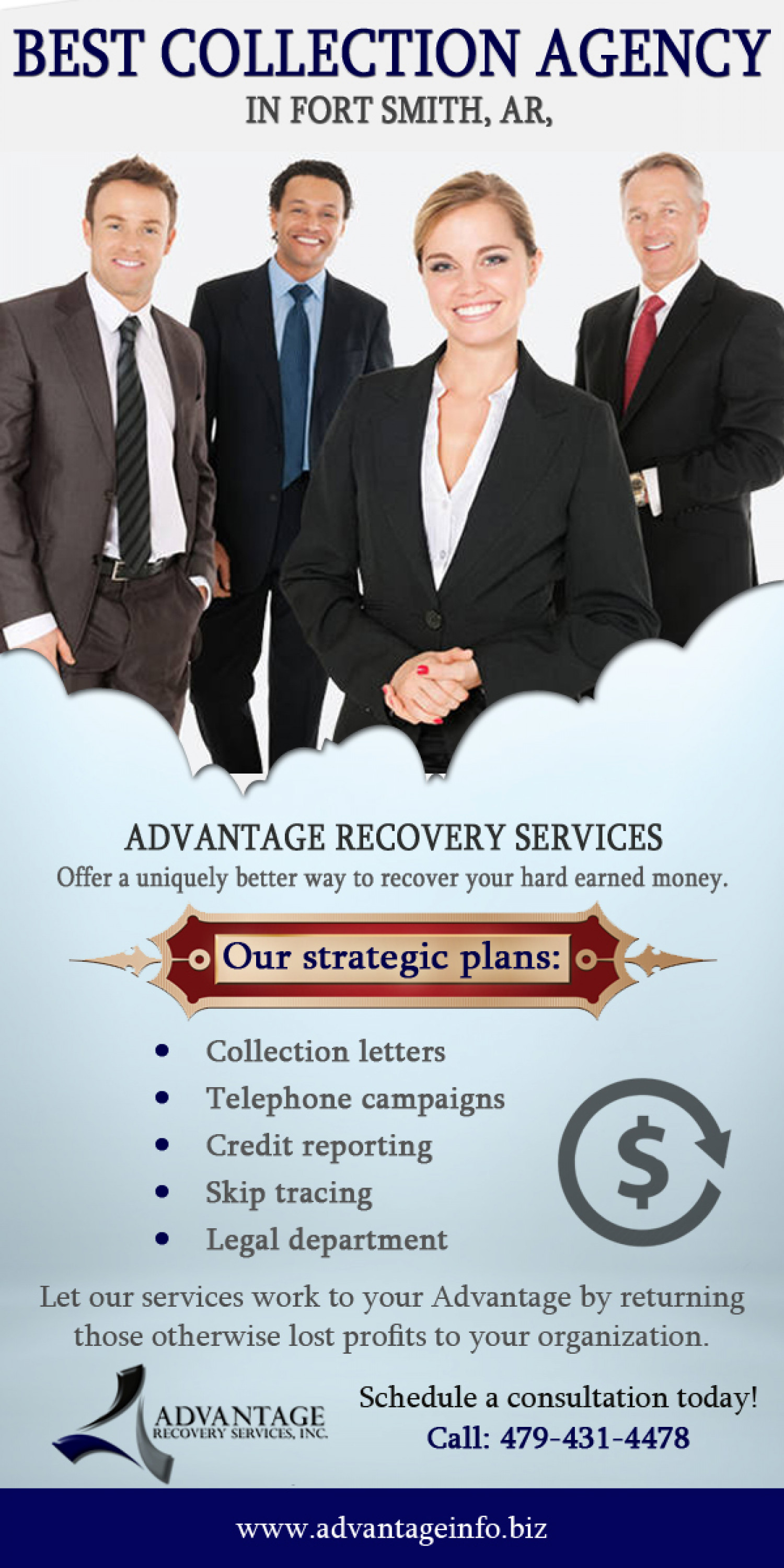 Recover Lost Profits With The Best Collection Agency Infographic