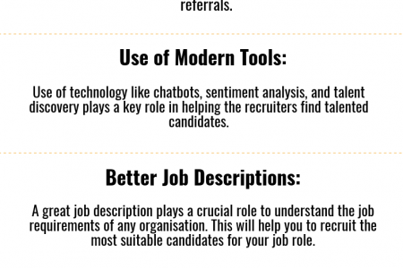 Recruiting Tips That You Should Follow Infographic