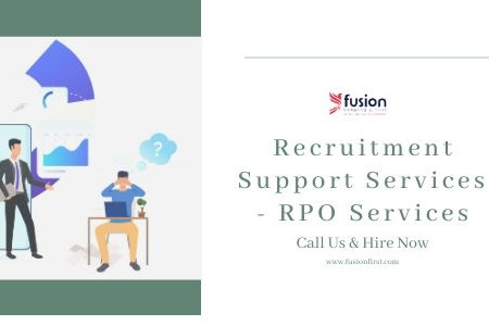 Recruitment Support Services | Backoffice Services Infographic