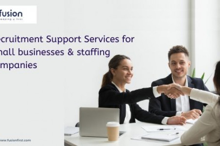 Recruitment Support Services  Infographic