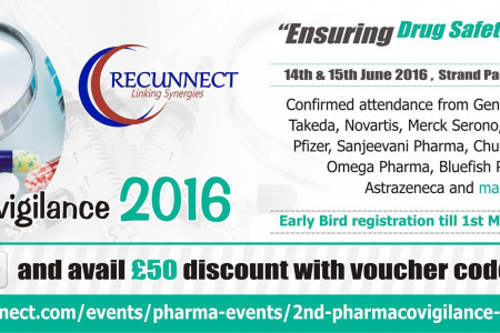 Recunnect 2nd pharmacovigilance conference 2016 Infographic