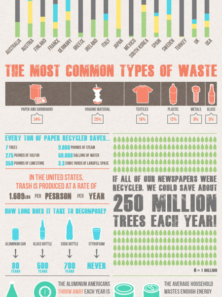 Recycling: The Good, The Better and The Best Infographic
