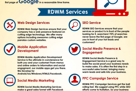 Red Dragon Web Media Infographic
