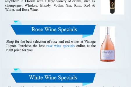 Red Wine & Rose Wine - Buy White Wine Speical Online Infographic