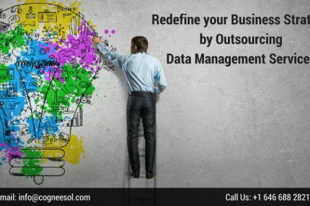 Redefine your Business Strategy by Outsourcing Data Management Services Infographic
