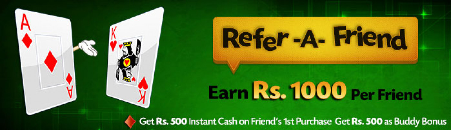 Refer & Earn at Classic Rummy Infographic