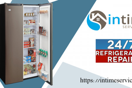 refrigerator repair and installation service Infographic