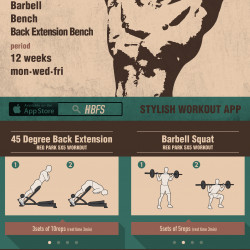 Reg PARK's 5X5 Workout Routine | Visual ly