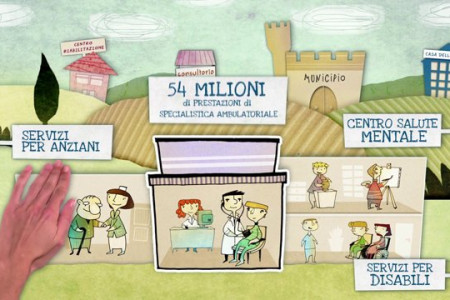 Regione Toscana animation video Infographic
