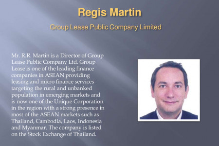 Regis Martin Group Lease Public Company Limited Infographic