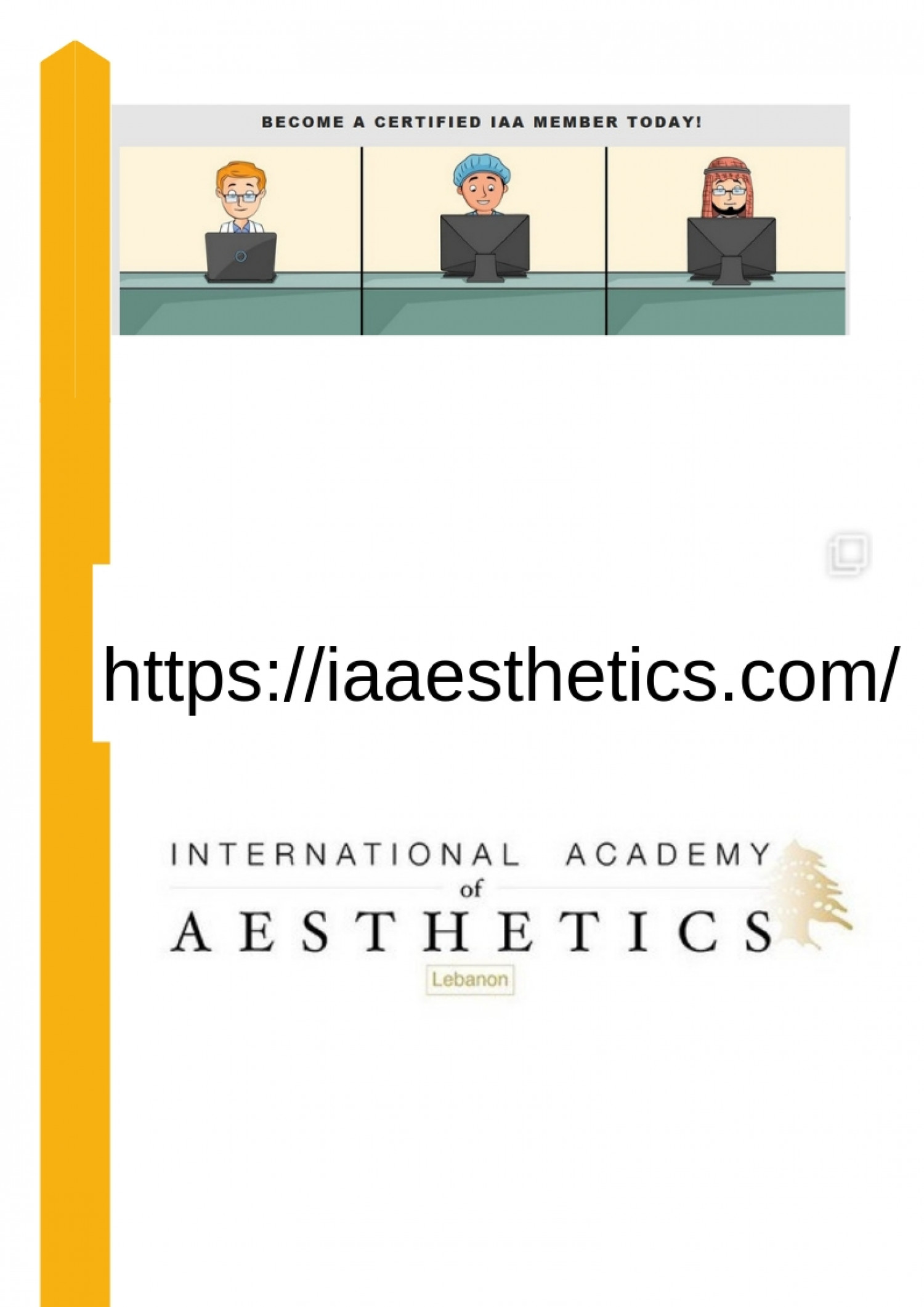 Register into online botox training Infographic