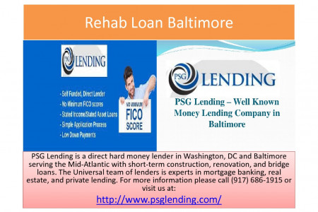 Rehab Loan Baltimore Infographic