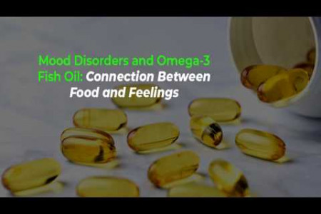 Relationship Between Mood Disorders and Fish Oil  Infographic
