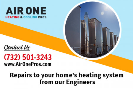 Reliable Heating Service in Old Bridge Infographic