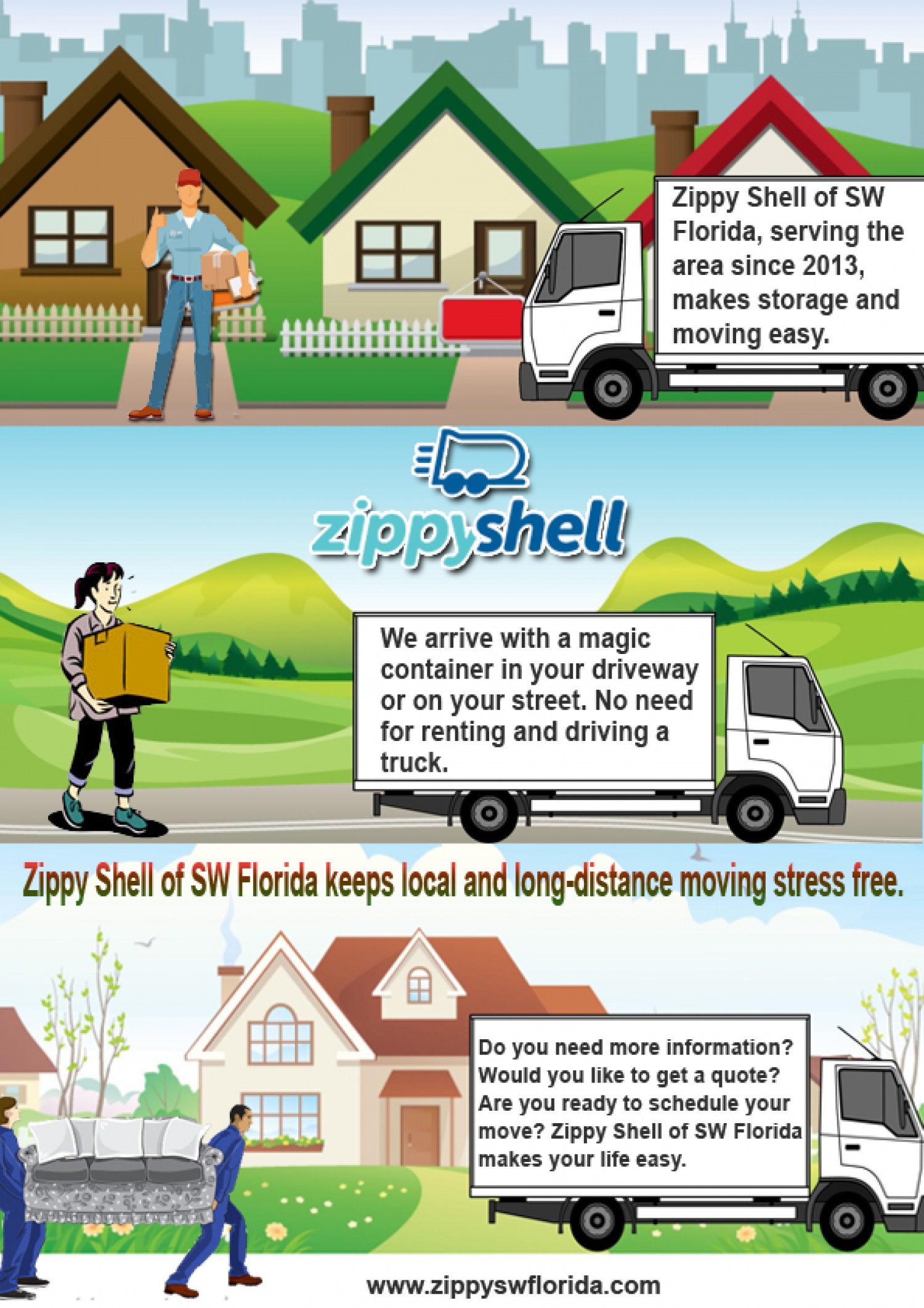 Amazing Reliable Moving And Storage Services At Your Reachable Pace Infographic