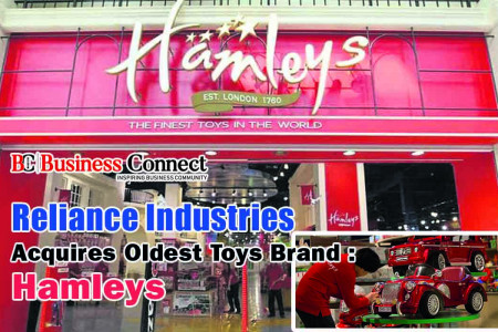 Reliance Industries Acquires Oldest Toys Brand : Hamleys Infographic