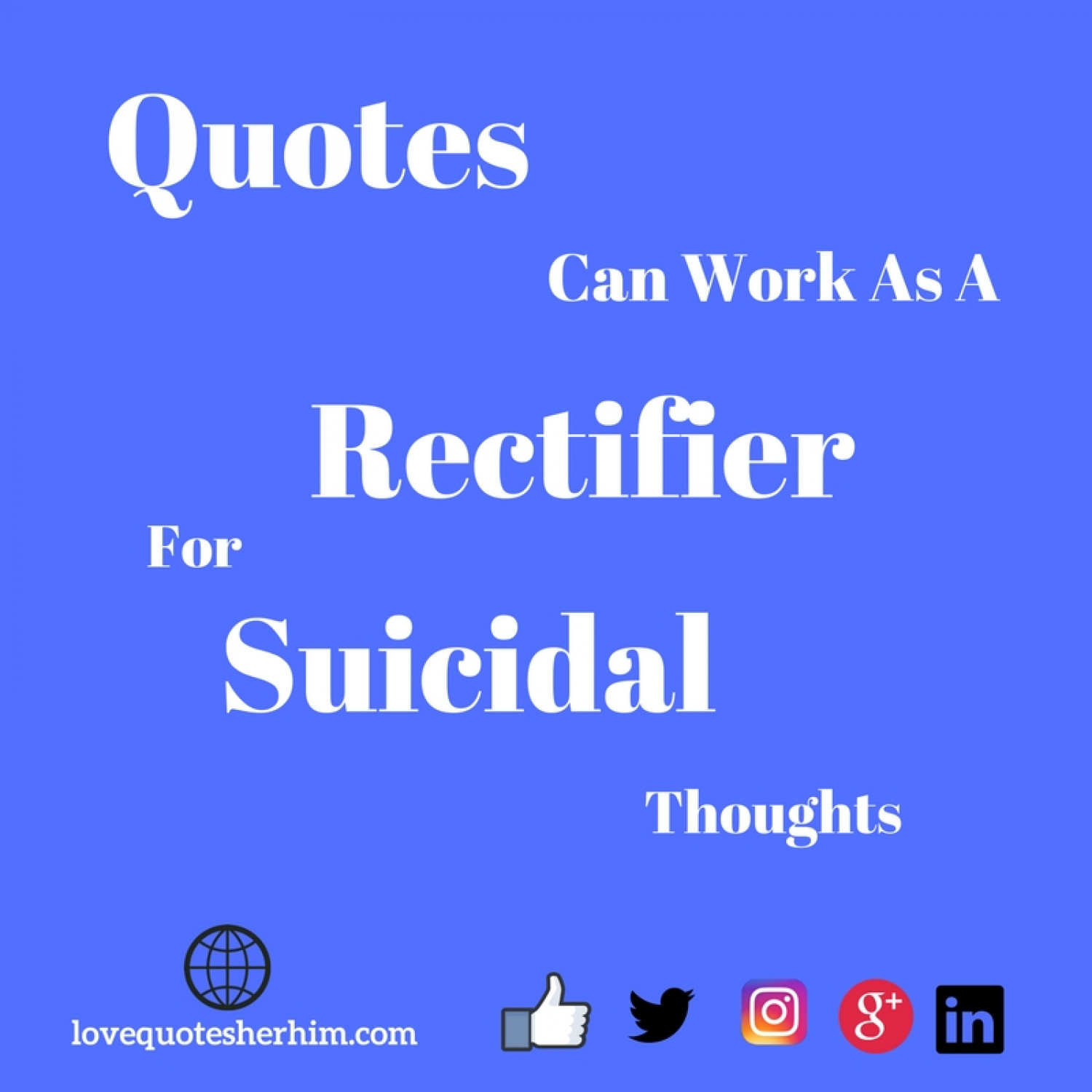 Remedy - Quotes can heal depression in a better a way  Infographic