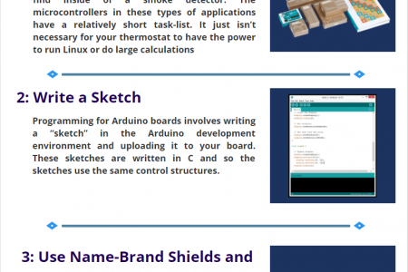 Remember These 5 Points before Starting the Arduino Project Infographic