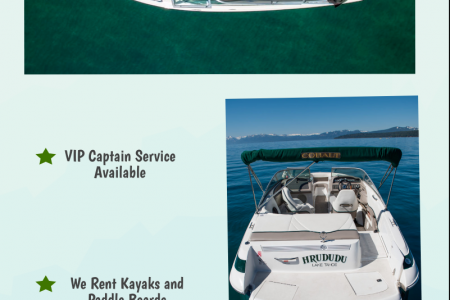 Rent Boat In Tahoe | Rent A Boat Tahoe Infographic