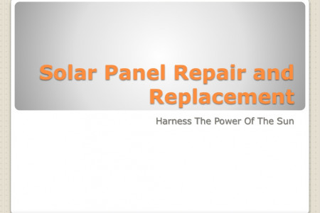 Repair Damaged Solar Panel NJ Infographic