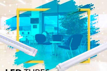 Replace Fluorescent Tube By Using LED Tube Lights Infographic