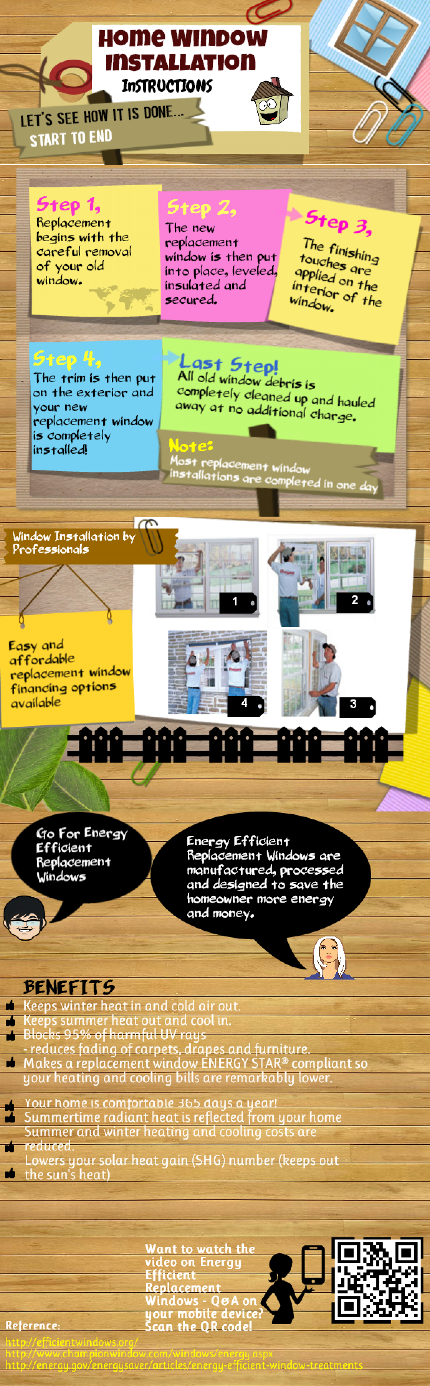 Replacement Windows Infographics Infographic