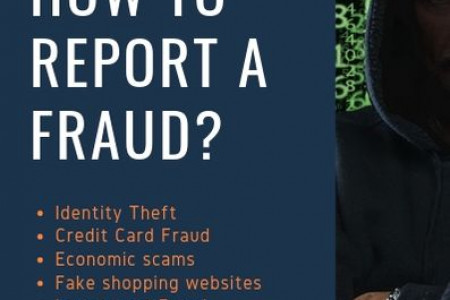 Report a Fraud Campaign Infographic