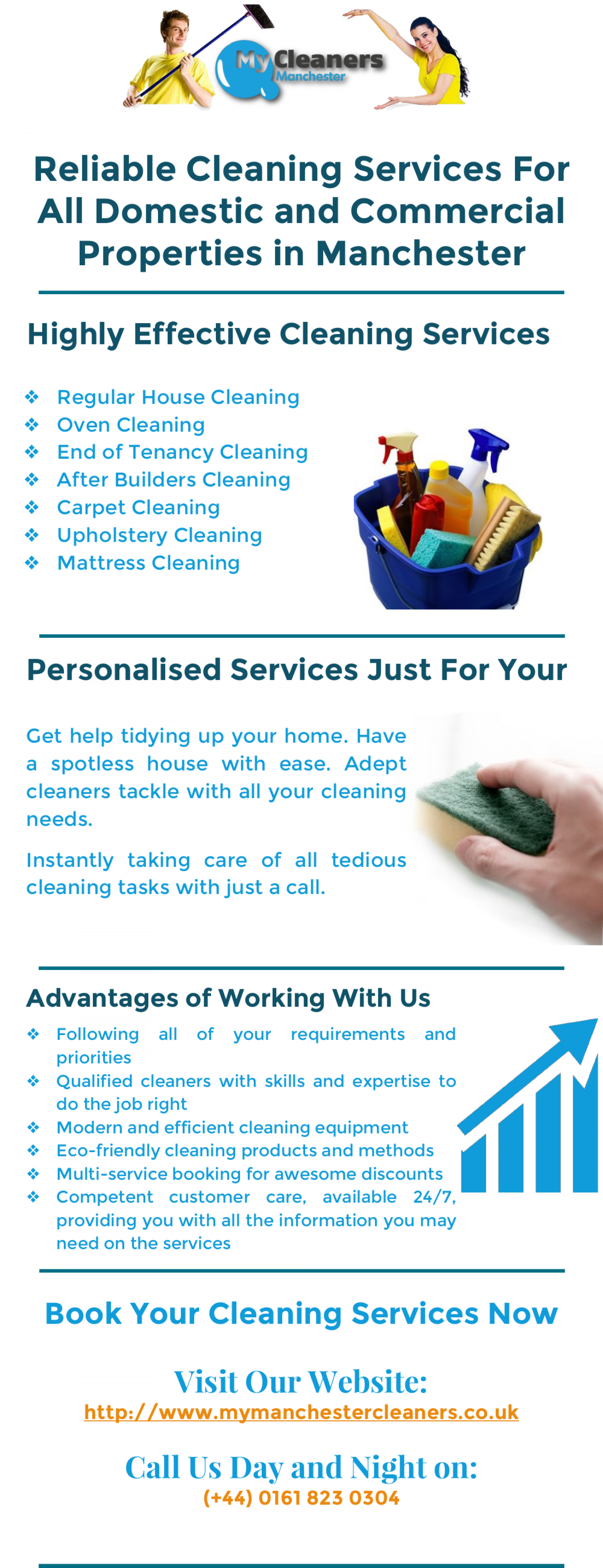 Reputable Manchester Cleaning Company Infographic