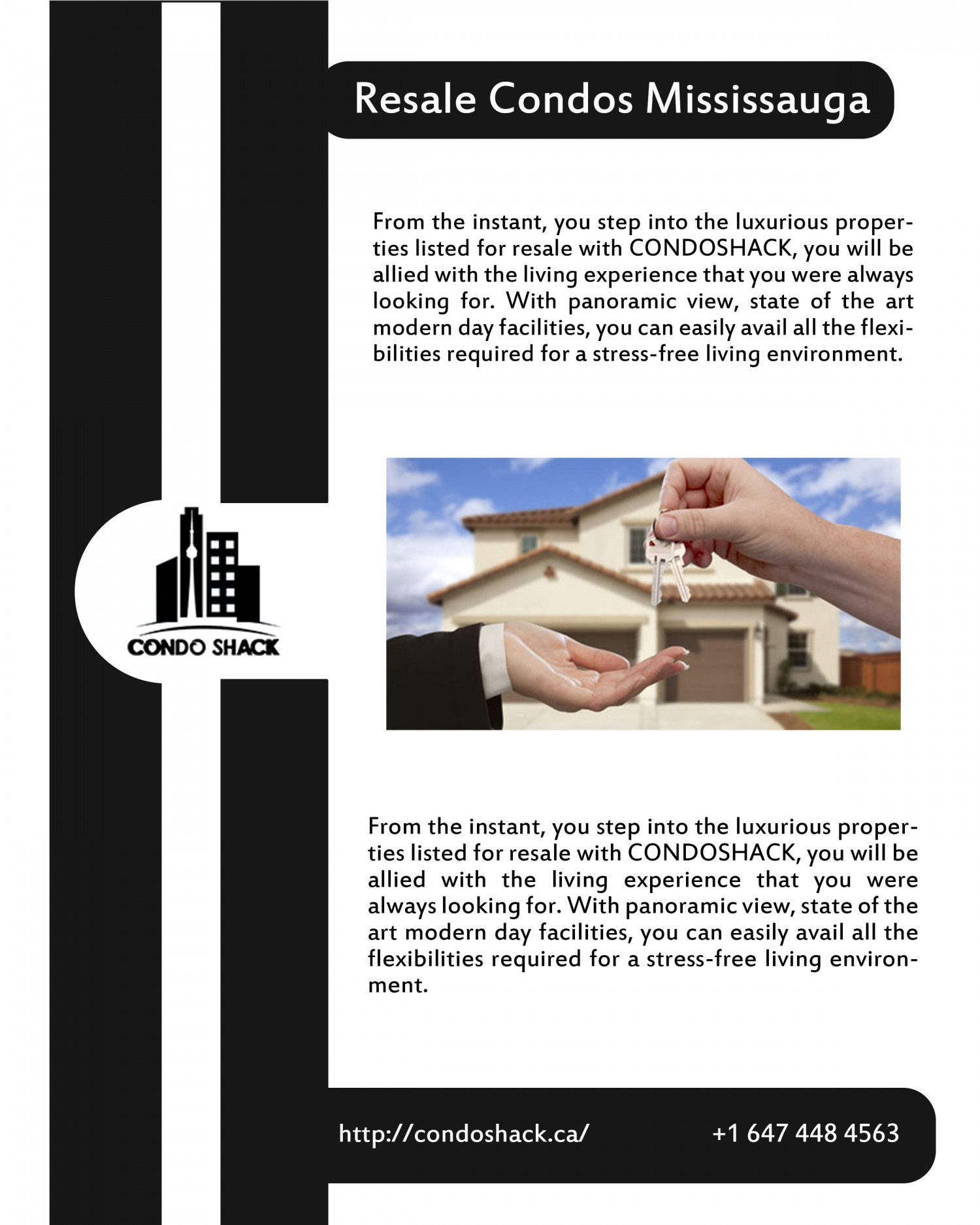 Resale Condos/Properties Mississauga Infographic