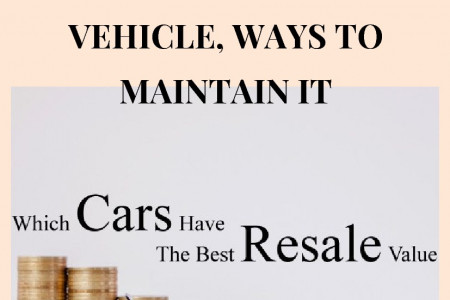 Resale Value of your Vehicle, Ways to Maintain It in Singapore Infographic