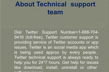 Restore twitter account problems simply in minutes with twitter support number Infographic