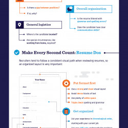 resume dos and donts making recruiters take notice visually - Resume Dos And Don Ts