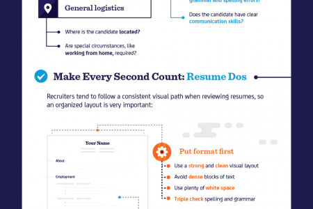 Resume Dos and Don'ts: Making Recruiters Take Notice Infographic