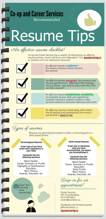 Resume Tips An Effective Resume Checklists  VisualLy