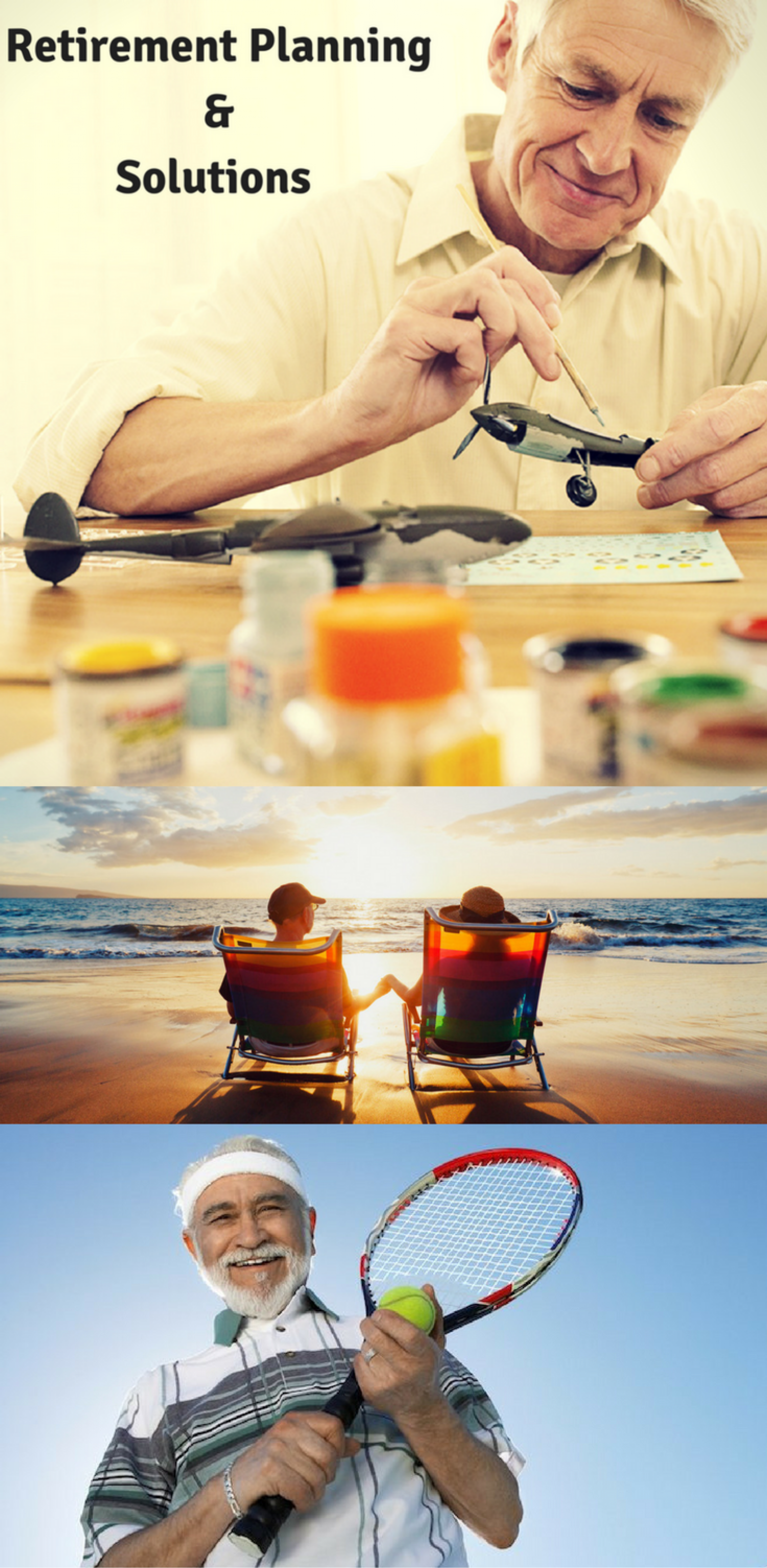 Retirement Planning | Retirement Solutions - Life Insurance Infographic
